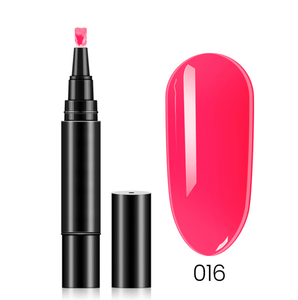 (18 Colors) One Step Nail Polish Pen