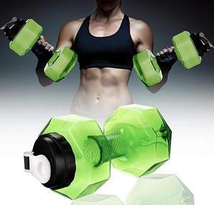 No Leak Free Light Weight Super Tough Dumbbell Water Jug