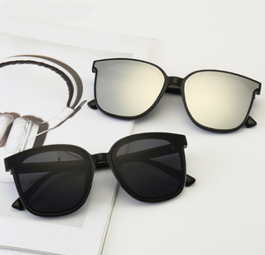 High Quality Fashion Mirror Big Frame Folding Sunglasses