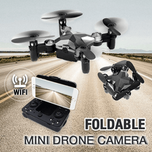 Load image into Gallery viewer, Foldable Mini Drone Camera