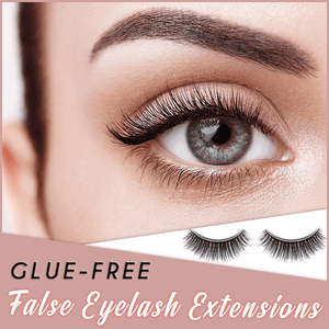 Glue-Free False Eyelash Extensions