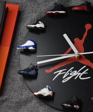 Load image into Gallery viewer, 3D Sneaker Clock with 1-12 Mini Sneakers——Free Shipping