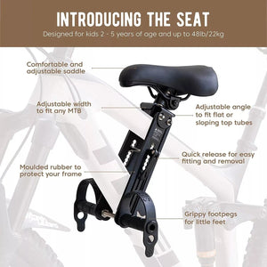 Front Mounted Child Bike Seat