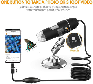 MAGIC ZOOM 1080P MICROSCOPE CAMERA (1600X)