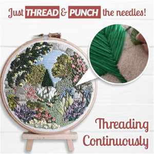 EasyStitch Embroidery Stitching Punch Needles Set