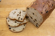 Load image into Gallery viewer, Cinnamon Raisin Sliced Sandwich Loaf