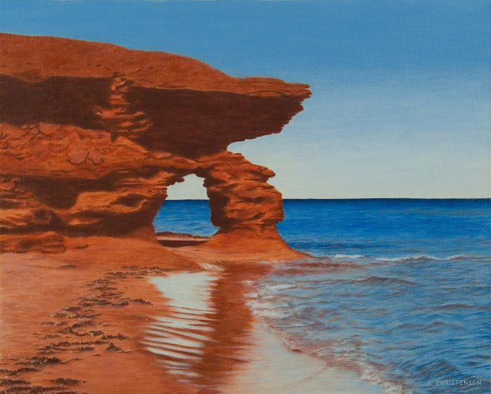 Archway to Thunder Cove PEI