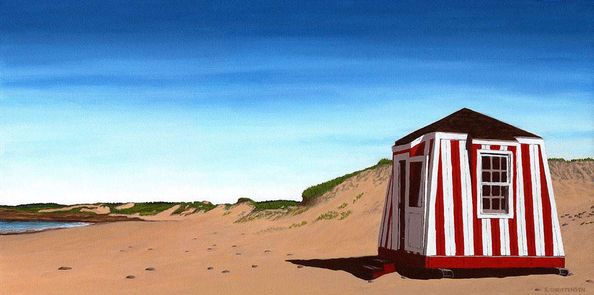 Cabana at Cavendish Beach PEI