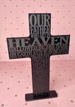 Load image into Gallery viewer, Resin Our Father Cross