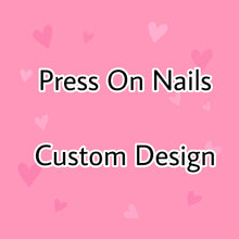 Load image into Gallery viewer, Custom Design - Press On Nails * False Nails * Hand Painted Gel Nails *