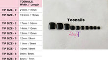 Load image into Gallery viewer, Press On Nails * Berry Red * False Nails * Hand Painted Gel Nails *