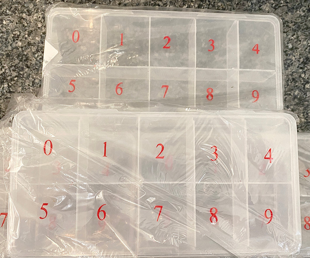Nail Tip Storage Box