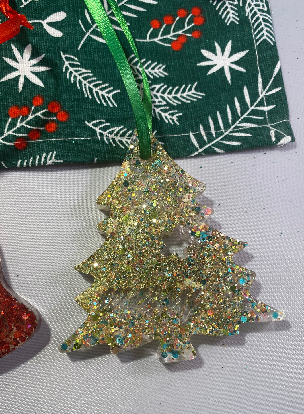 Resin Xmas Decorations