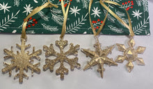 Load image into Gallery viewer, Snowflake Xmas Decorations