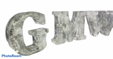 Load image into Gallery viewer, Resin Letter Ornaments