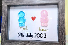 Load image into Gallery viewer, Jelly Baby Couples Frame