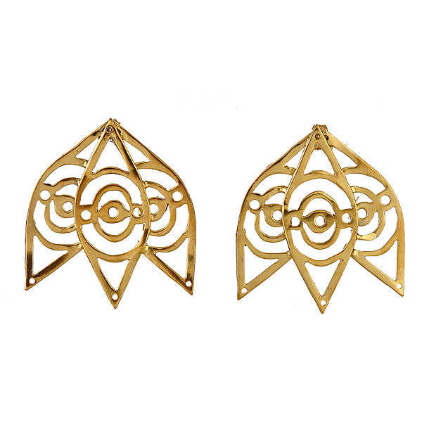 Trinity Eye Earrings