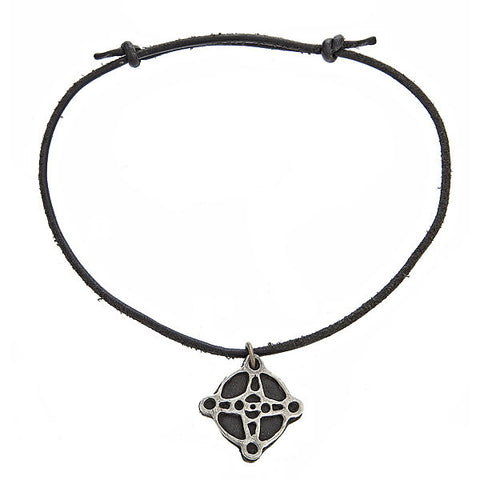 Compass Leather Choker