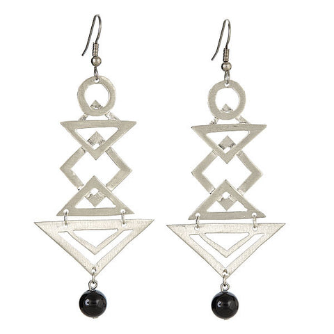 Empress Earrings Silver