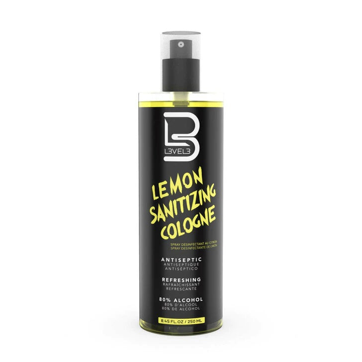 L3VEL 3 - Lemon Sanitizing Cologne