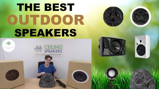 best outdoor speakers you can buy
