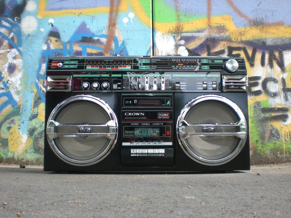 A Brief History of the Boombox