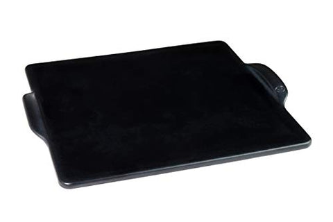 Emile Henry Charcoal Pizza Stone, 14 in. x 14 in. in,