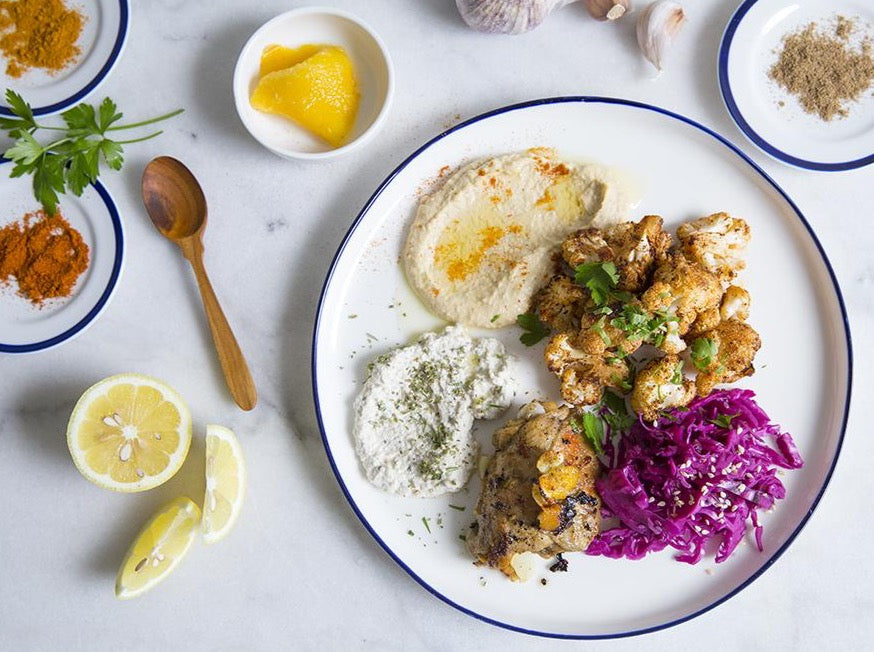 Fri May 28: 5:30PM - Preserved Lemon Chicken Mezze Plate