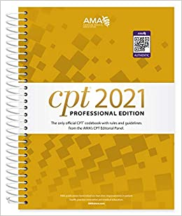 CPT 2021 Professional Edition (CPT / Current Procedural Terminology