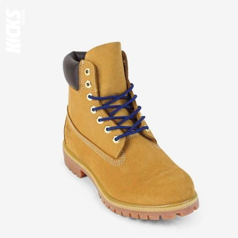 Blue and Black Boot Laces