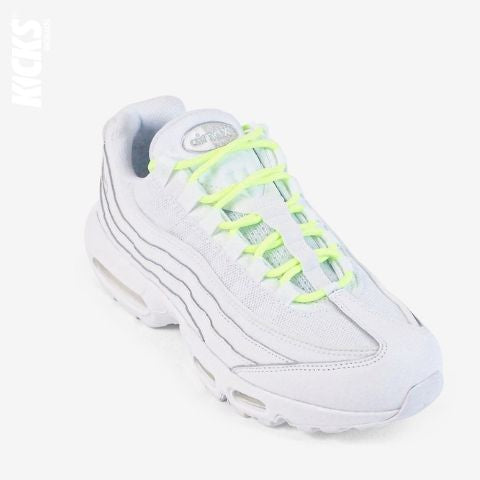 Fluorescent Green Round Shoelaces