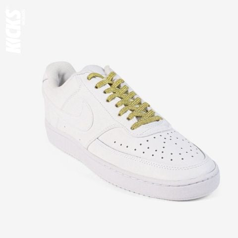 Gold Shimmer No Tie Shoelaces
