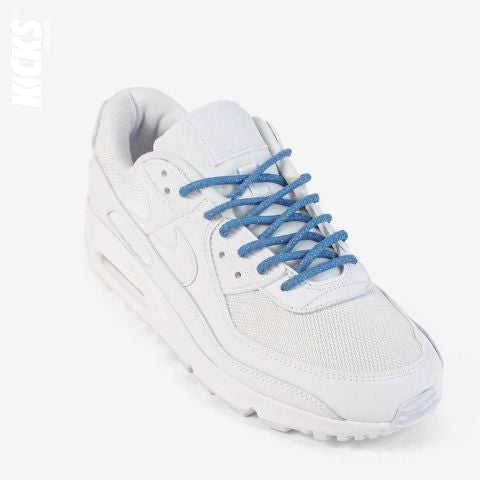 Sky Blue Reflective Rope Shoelaces