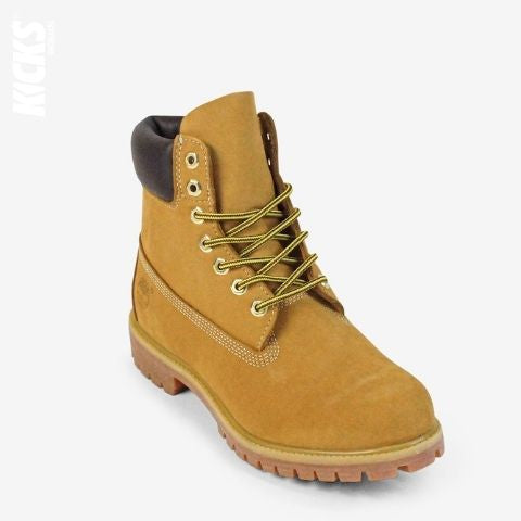 Yellow and Brown Boot Laces