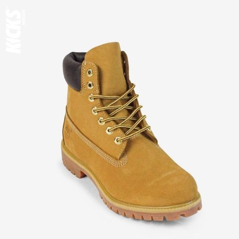 Yellow and Deep Brown Boot Laces