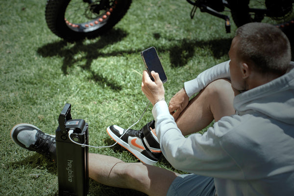 Charge on the Go with HeyBike