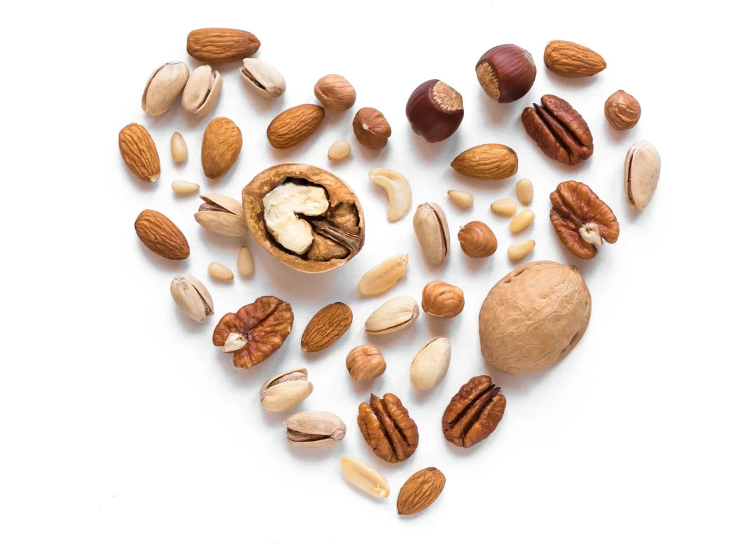 Mixed-nuts-in-heart-shape