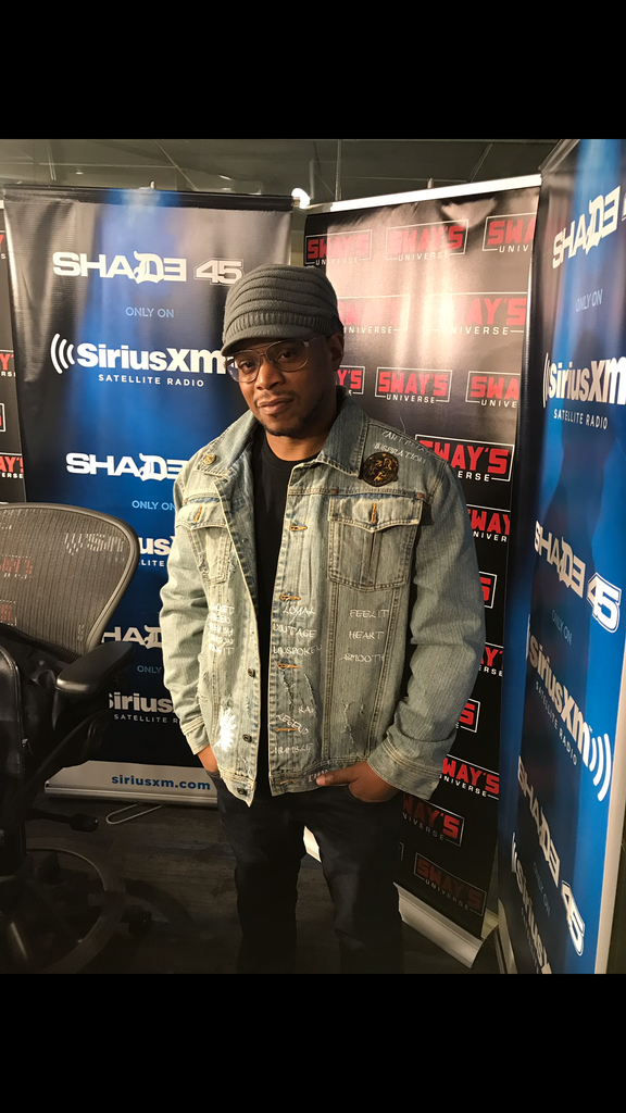 sway in Jeanius jacket