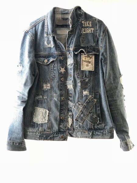 CANT RELATE BY SMOOTH INDIVIDUALITY CUSTOMIZABLE JEAN-IUS JACKET