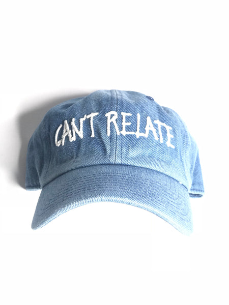 Can't relate by smooth individuality Jean hat