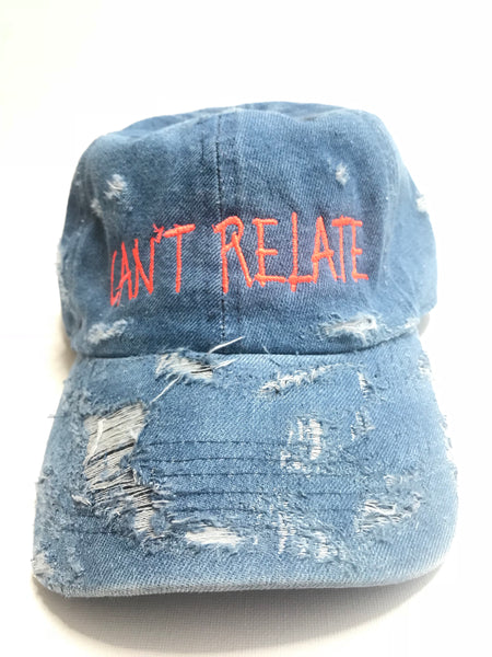 Can't relate jean dad hat