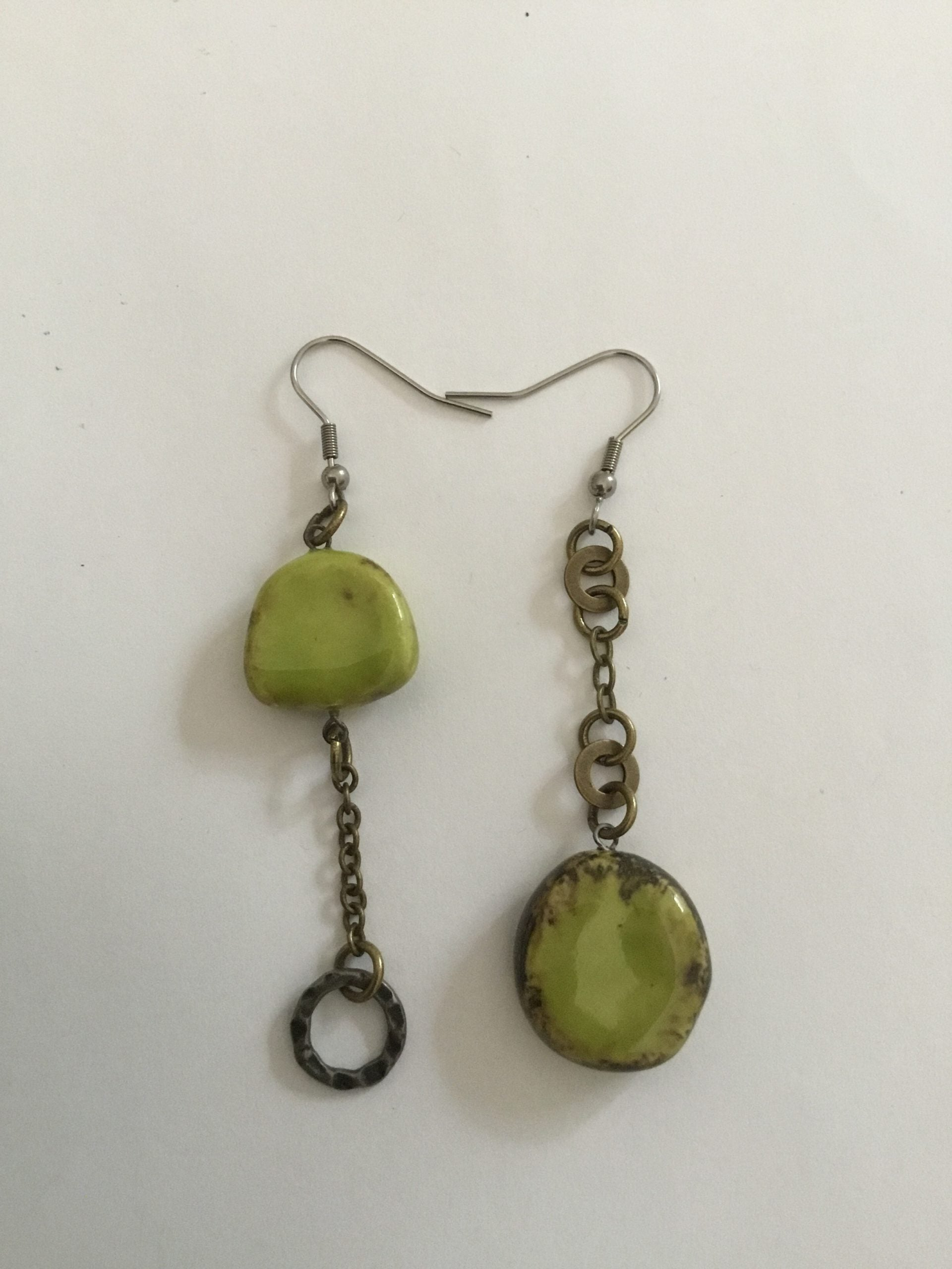 Pottery Earrings