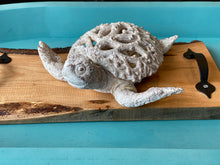 Load image into Gallery viewer, Coral Sea Turtle Sculpture