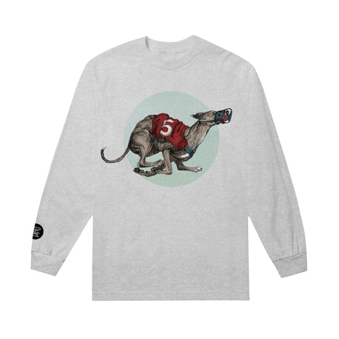 Greyhound Heather Grey Long Sleeve