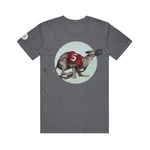 Greyhound Heather Smoke T-Shirt