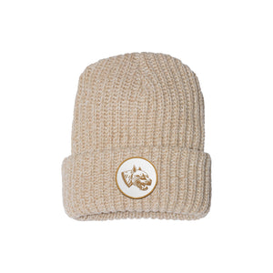 Pooch Patch Oatmeal Chunky Beanie