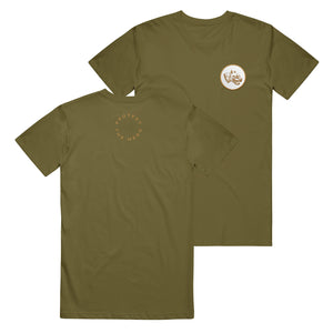 Pooch Patch Olive T-Shirt
