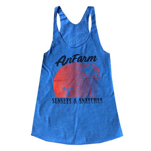 Anfarm Sunsets & Snatches Womens Tank