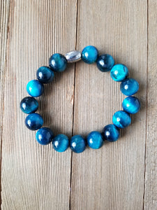 Men's Turquoise Beaded Bracelet