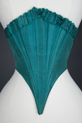 "c. 1860s Green Silk Swiss Waist Photo Print - 12x8"" Lustre Finish - PRE-ORDER, SHIPS JANUARY 2021"